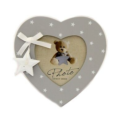 Baby Girl or Baby Boy Heart Photo Frame Newborn Baby Shower Present Unisex