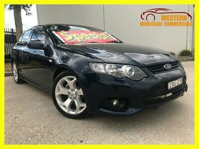 2012 Ford Falcon FG MkII XR6 Sedan 4dr Spts Auto 6sp, 4.0i Blue Automatic A