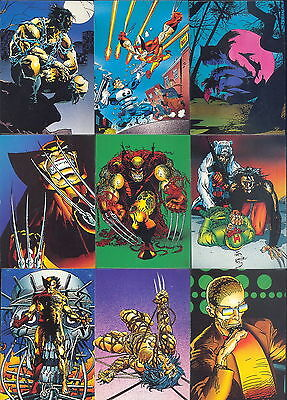 Marvel Wolverine From Then 'Til Now II - Complete Trading Card SET (90) - NM