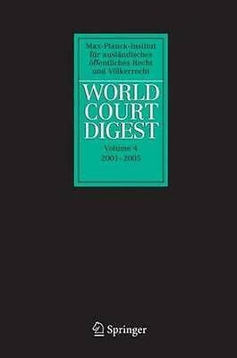 NEW World Court Digest 2001 - 2005 BOOK (Paperback / softback) Free P&H