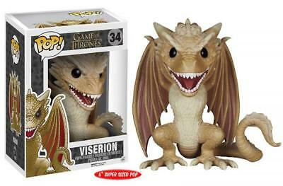 "Funko Pop! Game of Thrones 34 Viserion 6"" Inch Dragon Vinyl Action Figure FU5062"