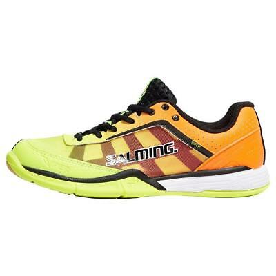 Neu Salming Junior Viper 4 Innen Schuhe Sport Schuhwerk Orange