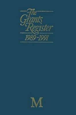 NEW The Grants Register 1989-1991 BOOK (Paperback) Free P&H