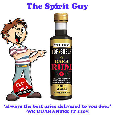 DARK RUM SPIRIT ESSENCE X 1 @ $6.49 each By STILL SPIRITS - 30101 - TOP SHELF