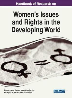 NEW Handbook Of Research On Women's Issues And Rights In The... BOOK (Hardback)