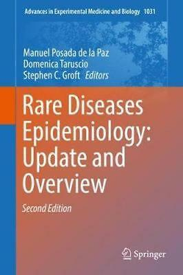 NEW Rare Diseases Epidemiology: Update And Overview BOOK (Hardback) Free P&H