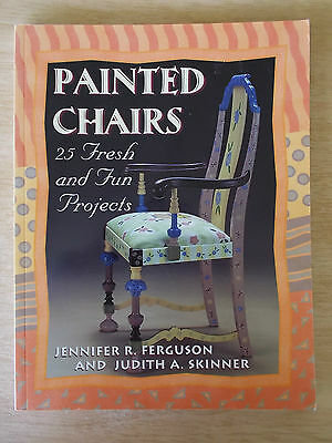 Painted Chairs~25 Fresh & Fun Projects~96pp P/B~2001~New