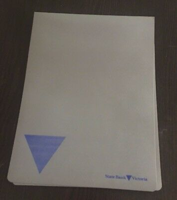 Collectable STATE SAVINGS BANK OF VICTORIA Folder 1980s