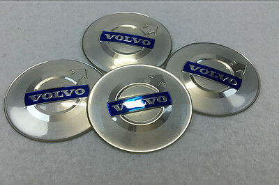 4Pcs 65mm Car Wheel Center Hub Cap Covers emblem sticker fit for Volvo