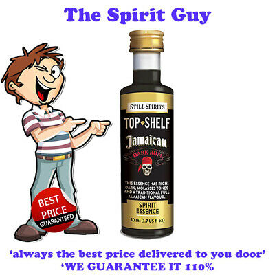 JAMAICAN DARK RUM SPIRIT ESSENCE x 1 @ $6.49 ea STILL SPIRITS - 30109  TOP SHELF