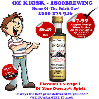 KENTUCKY BOURBON SPIRIT ESSENCE @ $6.49 ea By Still Spirits - 30104