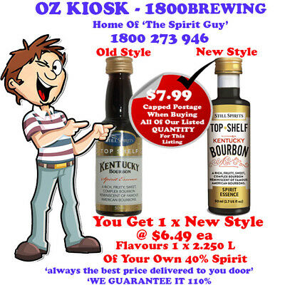 KENTUCKY BOURBON  SPIRIT ESSENCE X 1 @ $6.49 ea By Still Spirits - 30104