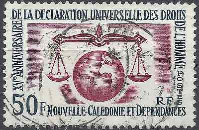 New Caledonia N°313 - Obliteration Stamp Has Date