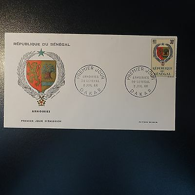 SENEGAL N°279 ON LETTER COVER 1st DAY FDC
