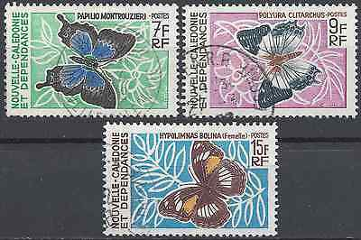 New Caledonia N°341/343 - Obliteration Stamp Has Date