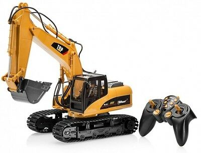 Remote Control Truck Bulldozer Digger Construction Tractor Toy Boys Kids RC Gift