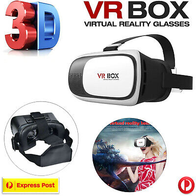 Virtual Reality 3D Headset VR BOX 2.0 Glasses for Samsung HTC LG iPhone 6 6S+