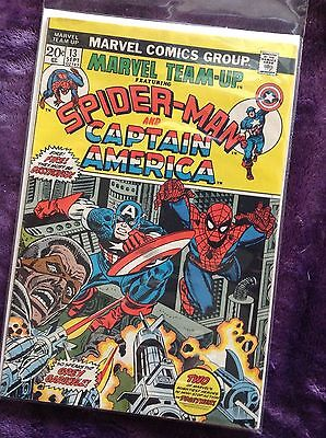 Marvel Team-Up, Spider-Man and Captain America #13, 1973 edition Marvel #02147