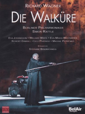 Die Walküre: Grand Theatre, Aix-en-Provence (Rattle)  DVD NEUF