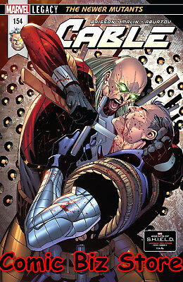 Cable #154 (2018) 1St Printing Bagged & Boarded Marvel Legacy Tie-In
