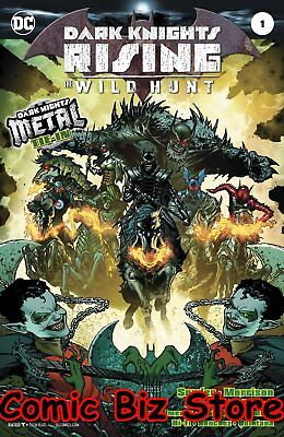 Dark Knights Rising The Wild Hunt #1 (2018) 1St Print Dc Metal Tie-In Foil Cover