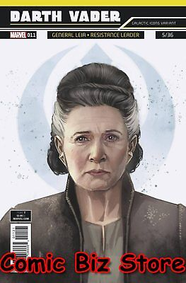 Star Wars Darth Vader #11 (2018) 1St Printing Reis Galactic Icon Variant Cover