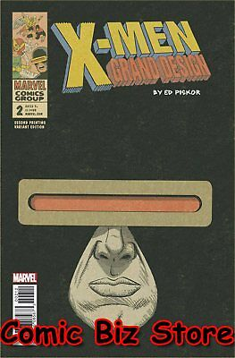 X-Men Grand Design #2 (Of 2) (2018) 2Nd Printing Piskor Variant Cover ($5.99)