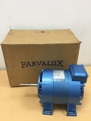 New Parvalux 100w SD18 AC Electric Motor Single Phase 1400RPM 4-Pole W08188