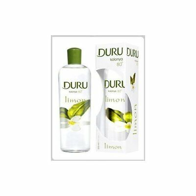 DURU TURKISH LEMON COLOGNE AFTERSHAVE LIMON KOLONYA 200ml