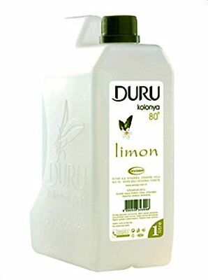 Duru Lemon Traditional Turkish Cologne Aftershave *1Lt*