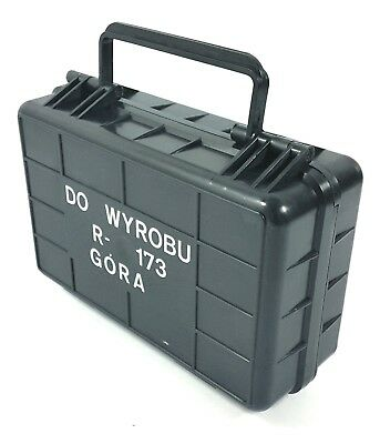 Military Small Black Polyamide Case Box Container Emergency Field Survival Box