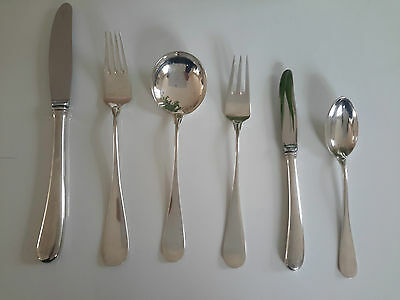 Arne Jacobsen, Danmark  Sterling Silber set 49 pcs.