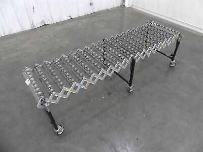 "Best Flex 300 Heavy-Duty Expandable Skate Gravity Conveyor 8' x 24"" (D6203)"