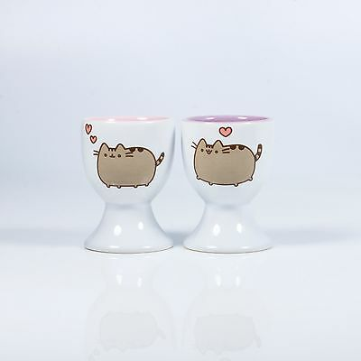 Pusheen Egg Cups - Set Of Two - Ceramic - Official Licensed Product