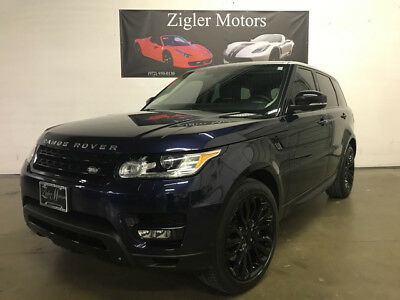 2014 Land Rover Range Rover Sport Supercharged Sport Utility 4-Door 2014 Range Rover Sport Supercharged DYNAMIC One Owner