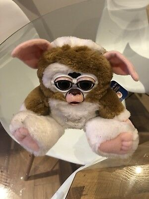 Gremlins Gizmo Furby with tag, tested and working (Tiger Electronics)