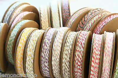 Divine Twine 20yd Reel 4ply Bakers Twine shabby chic cotton parcel tag string
