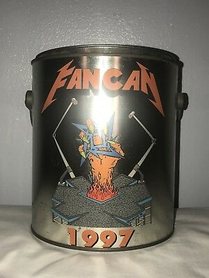 Rare Complete Metallica Fan Can #2 1997 with Large shirt, CD, VHS, & etc.
