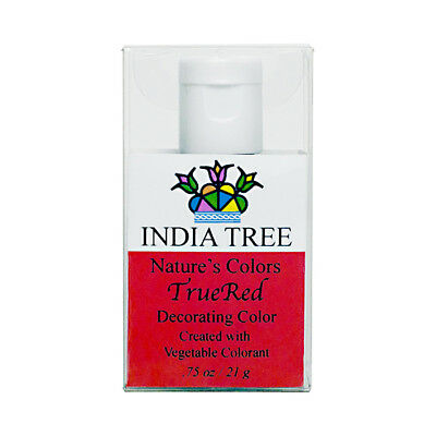 India Tree Natural Colour - Liquid - True Red