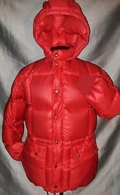 MENS S BOYS 20 Minty VTG Eddie Bauer PREMIUM Goose DOWN Expedition Parka COAT