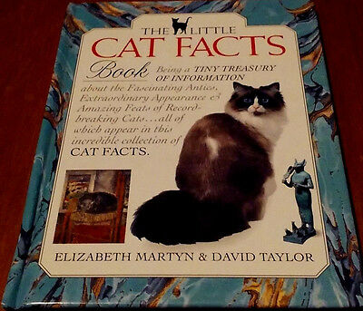 """""""The Little Cat Facts Book""""1ST American & Limited Edition"""