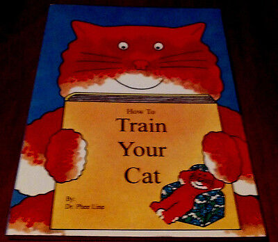 HOW TO TRAIN YOUR CAT*  Vintage1992 RARE EDITION 🌟HOLIDAY🎁Clearance SALE🎄