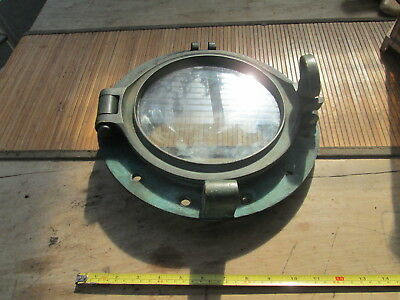 Porthole solid brass 12.5 inch.
