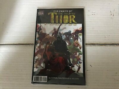 MIGHTY THOR (2017 Marvel) #700 NM LENTICULAR VARIANT Death of Legacy Unworthy