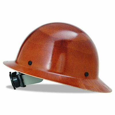 MSA 475407 Natural Tan Skullgard Hard Hat Protection w/ Fas-Trac Suspension New