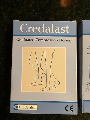 2 Boxes Of Credalast Compression Stockings.             1 Box RRP:£30