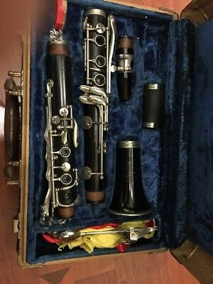 Vintage Cundy-H. Bettoney Cadet Wood Clarinet with Vintage Case