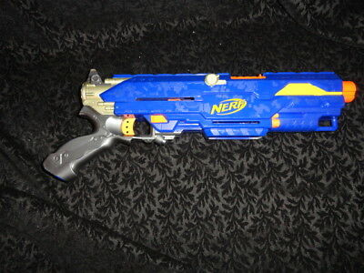 Nerf N-Strike Long Strike CS-6 Sniper Rifle Blaster Dart Gun - NO PRIMING BAR