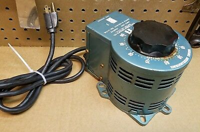Staco Variac 3PN1010 Variable Transformer