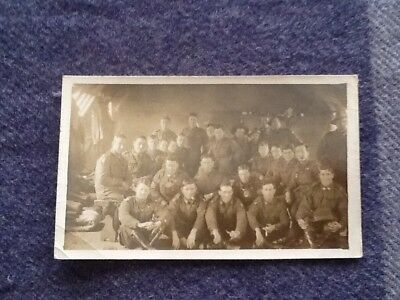 WW1 GROUP OF AUSTRALIAN SOLDIERS PHOTOGRAPH .r